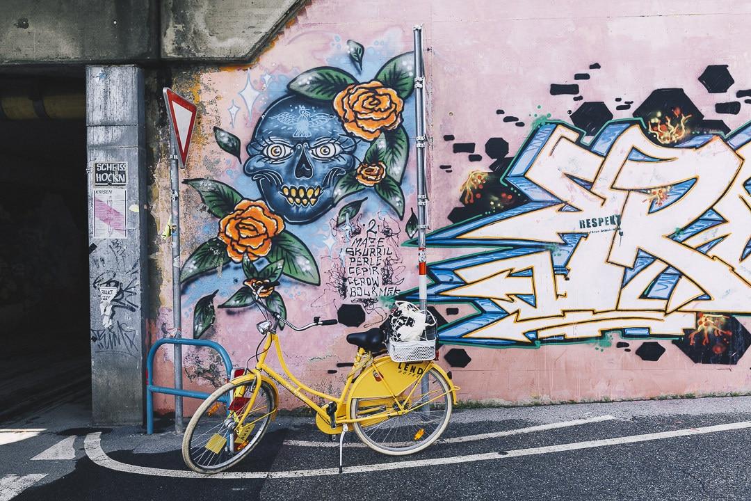 Street art à Graz - Autriche