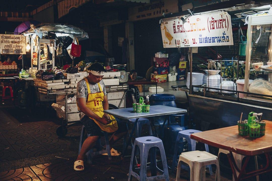 Cantine de rue à Chinatown #bangkok #chinatown #thailande