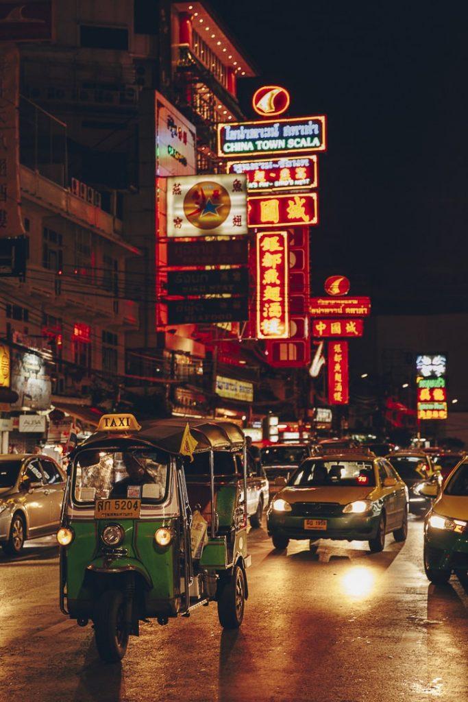 Chinatown, un quartier incontournable à visiter lors d'un stopover à Bangkok #thailande #bangkok