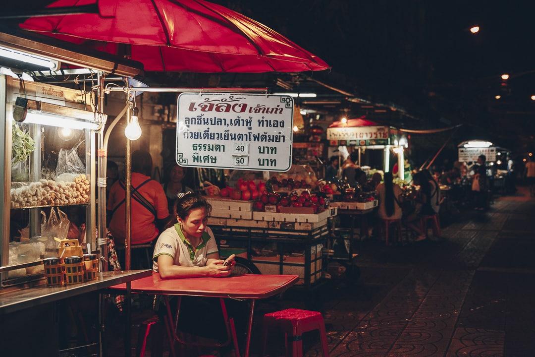 Streetfood à Chinatown à Bangkok #thailande #bangkok