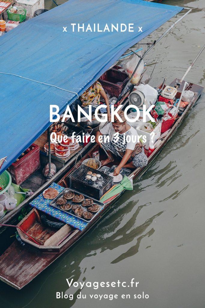 Que faire en 3 jours de Stopover à Bangkok ? Temples, marchés, massage,... #thailande #bangkok