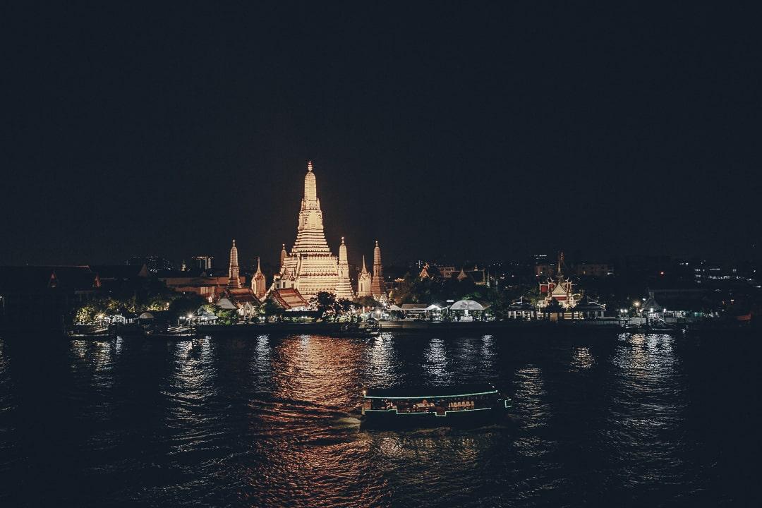 3 jours à Bangkok - Vue depuis le bar rooftop de l'hôtel Sala Rattanakosin #bangkok #thailande