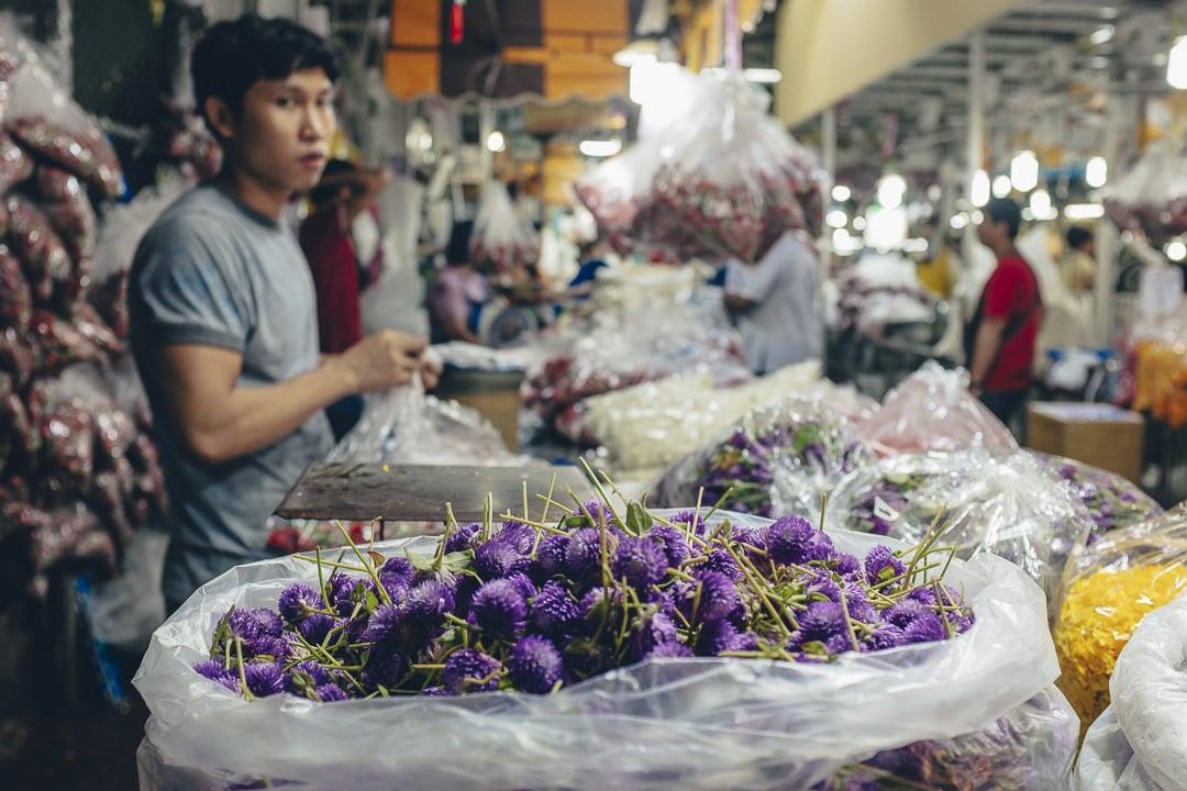 Le marché aux fleurs de Bangkok, un stop incontournable à Bangkok #thailande #bangkok
