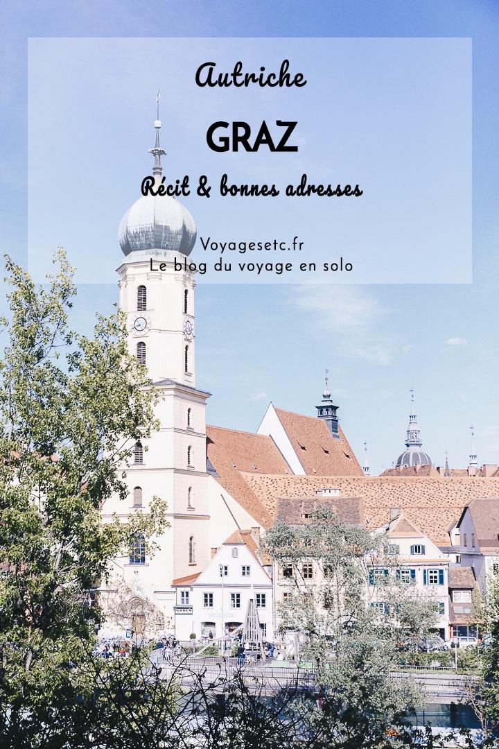 Graz est la deuxième plus grande ville d\'Autriche. Ici, on se laisse charmer par son centre historique, ses bâtiments tantôt baroques, tantôt designs et ses petits cafés. Une jolie petite escapade entre deux coins de nature en Styrie. #autriche #graz