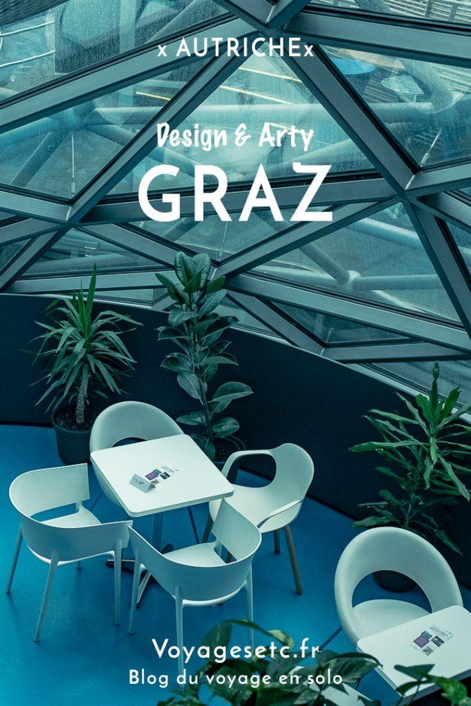 Connaissez-vous le côté Arty & design de Graz ? Je partage mes découvertes et mes bonnes adresses découvertes à l'occasion du mois du design #graz #autriche #arty #design