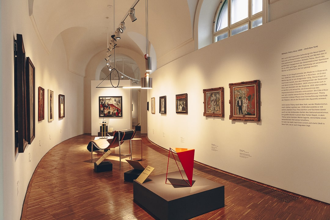 Exposition au Joanneumsviertel à Graz, Autriche #autriche #graz