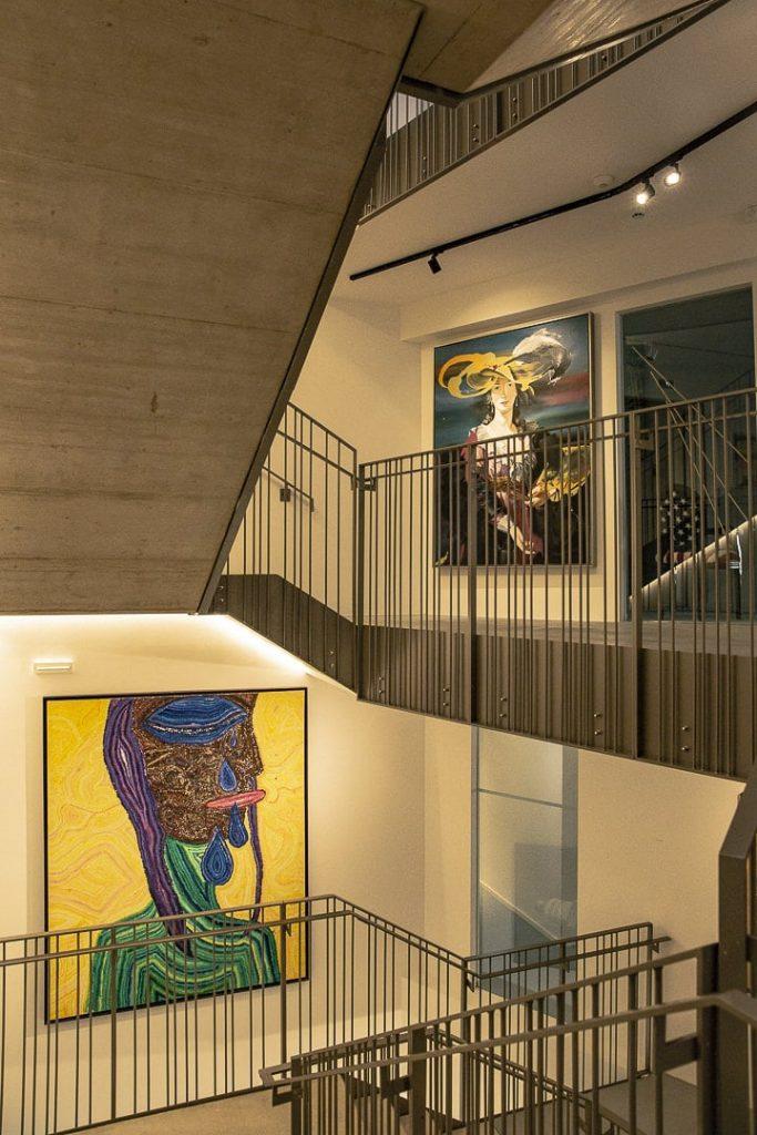 Art contemporain au Lend Hotel à Graz - #autriche #graz
