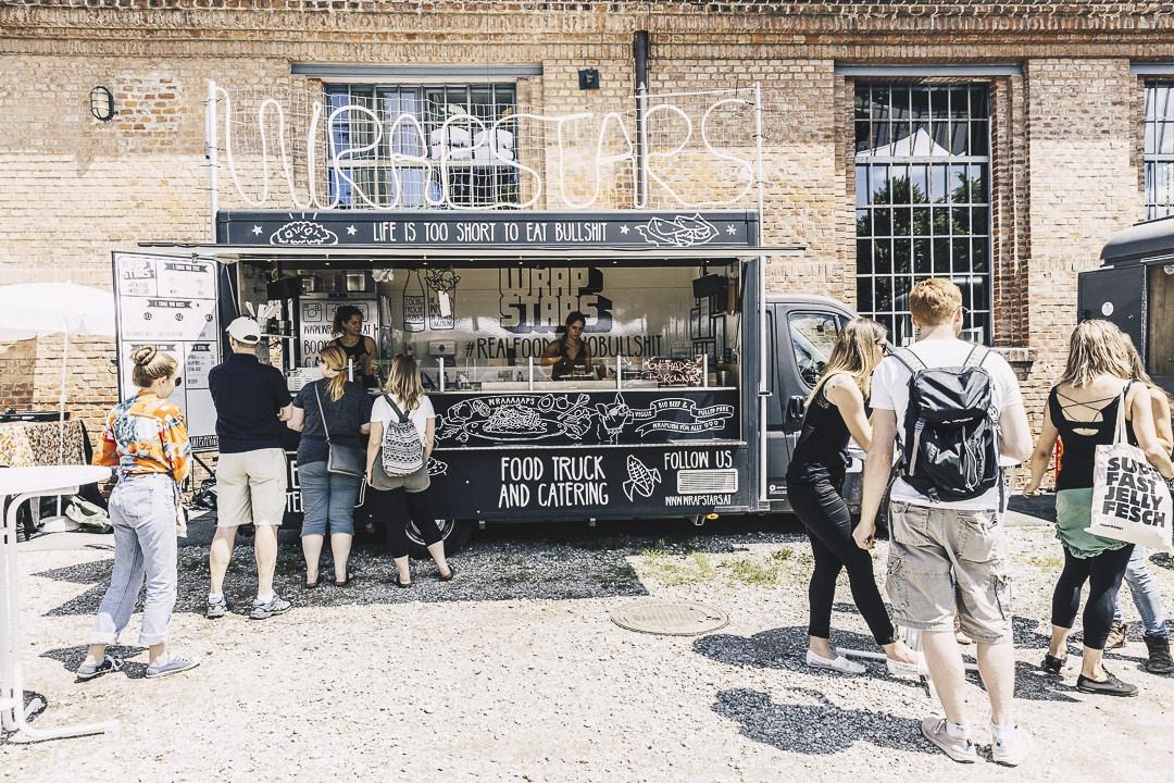 Food truck au Feshmarkt de Graz #autriche