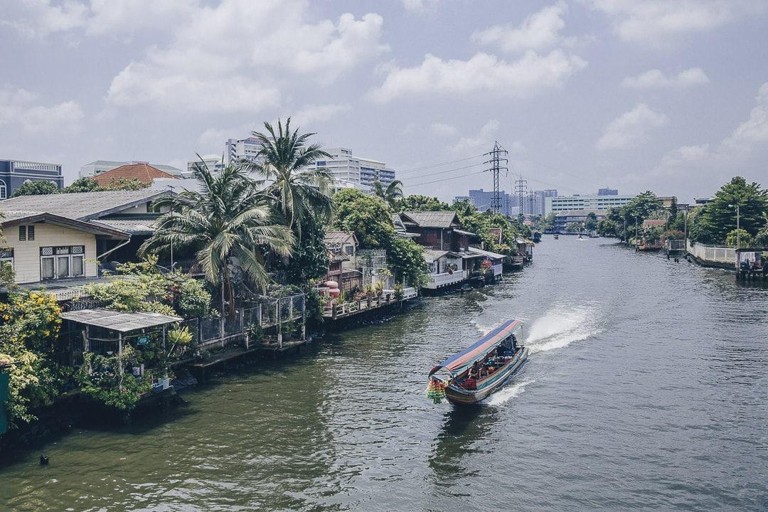 Visiter Bangkok par ses canaux, un incontournable lors d'un séjour de 3 jours à Bangkok #thailande #bangkok