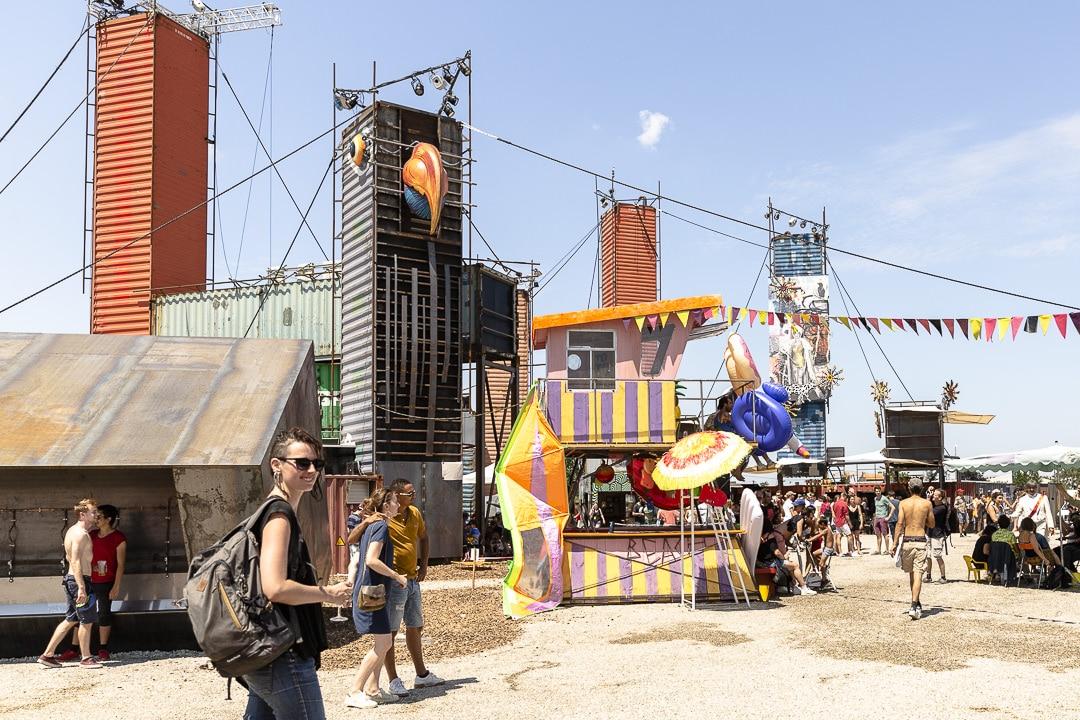 Transfert & co, le nouveau site culturel de Nantes, à visiter tout l'été à Rezé #lvan #Nantes