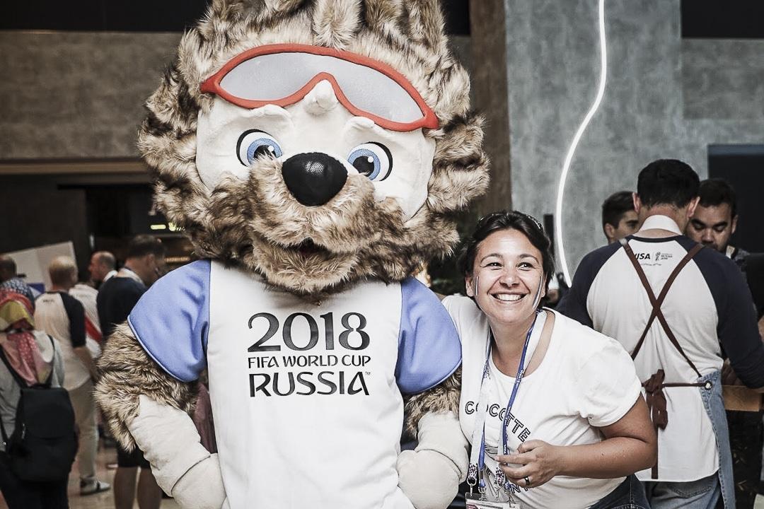 Finale de la coupe du monde en Russie pour tester le 100% paiement sans contact