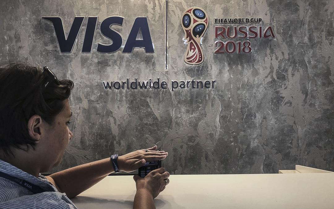 Objets de Paiement sans contact développés pour la coupe du monde de la FIFA, Russie 2018