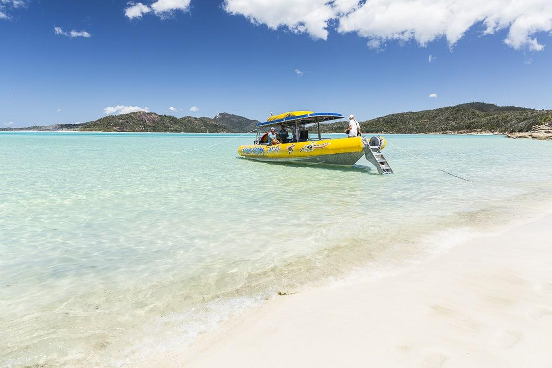 Ocean rafting, un opérateur eco certifié recommandé pour faire une excursion sur Hill Inlet et Whitehaven beach #australie #queensland