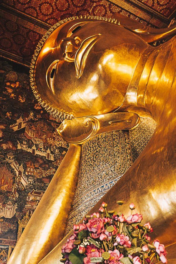 Grand Bouddha couché du Wat Pho #bangkok #watpho