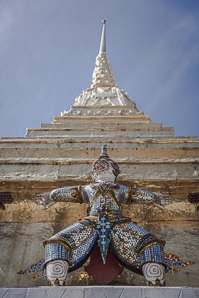 Détail du Grand Palais #thaïlande