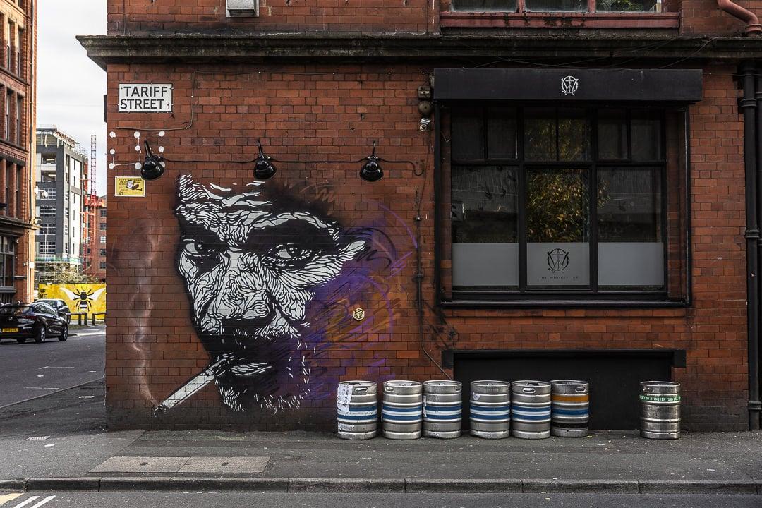 Le fumeur de l'artiste français C215 vu à Manchester #streetart #bestofMCR #lovegreatbritain
