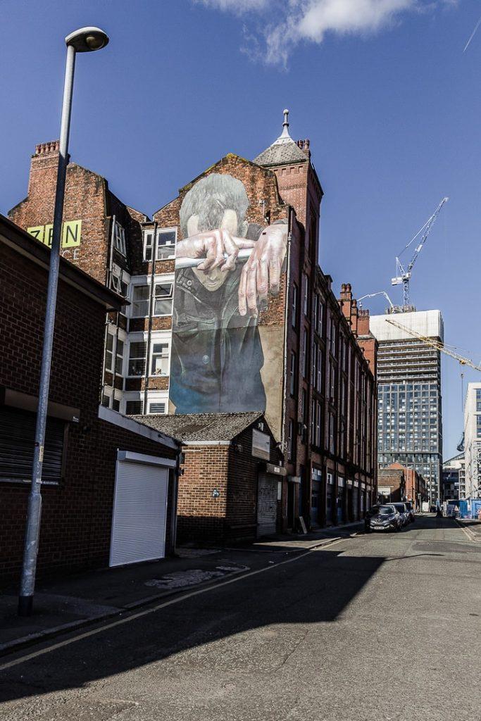Oeuvre du street artist CASE à Manchester #bestofMCR #lovegreatbritain #streetart