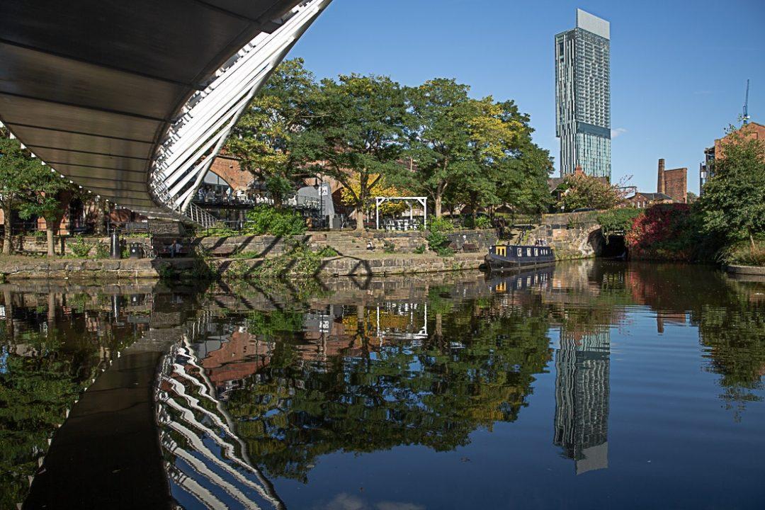 Vue sur les canaux de Castlefield à Manchester #bestofMCR #lovegreatbritain #angleterre