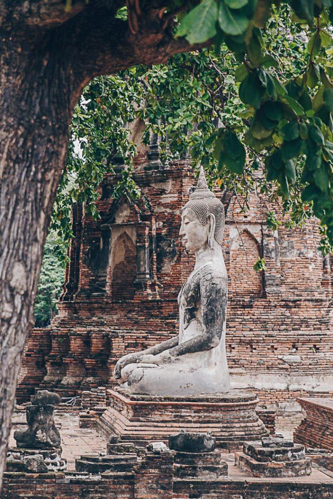 Wat Mahathat, Ayutthaya - Thaïlande