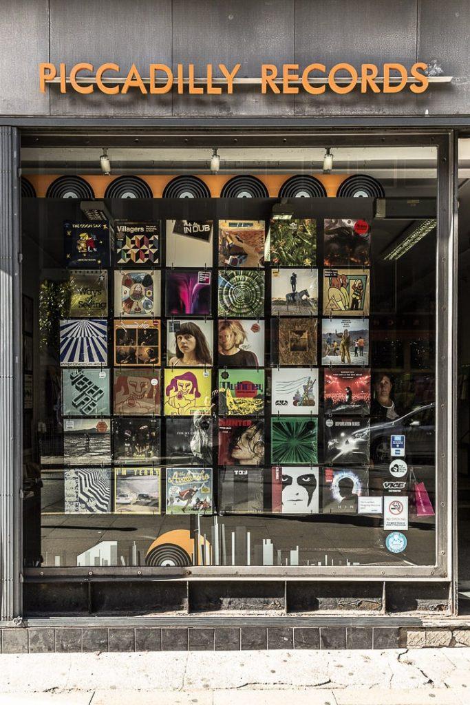 Picadilly record, une bonne adresse pour acheter des vinyl à Manchester #bestofMCR #lovegreatbritain