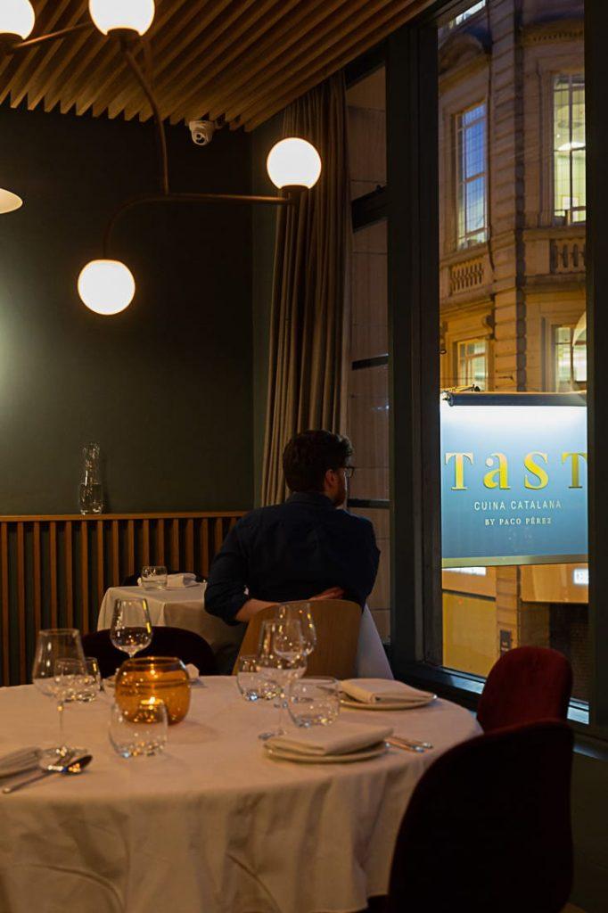 Tast restaurant du chef catalan Paco Perez (multi-étoilé en Catalogne) #bestofMCR #lovegreatbritain #angleterre
