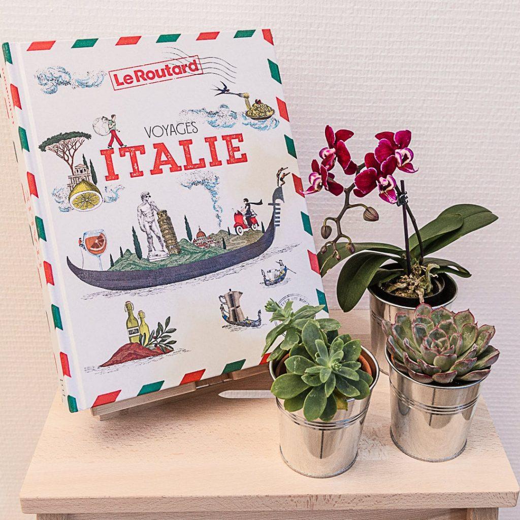 Beau livre de voyage sur l'Italie Le Routard / Hachette