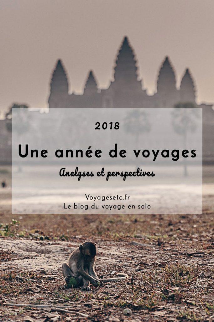2018 une année de voyages, analyses et perspectives