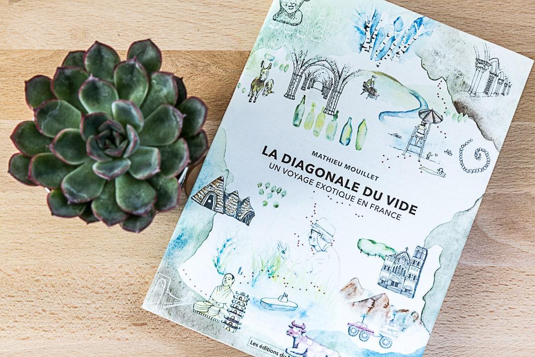 La diagonale du vide, un récit de voyage d'un an à pied et en vélo dans les zones les moins peuplées de France. A lire absolument !