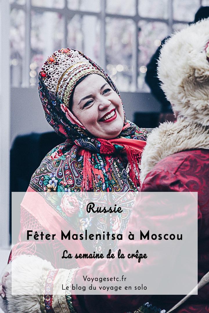 Visiter Moscou et fêter Malsenitsa, voilà une idée originale. Alors que j\'allais rendre visite à une amie, je suis tombée sur cette jolie fête qui anime tous les ans les rues de Moscou et de la Russie. Je vous raconte tout ça