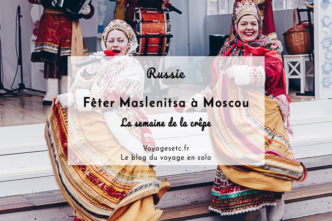 Fêter Maslenitsa à Moscou en Russie, le festival qui célèbre le passage de l'hiver au printemps pour les païens et la fête de pré-carême pour les chrétiens orthodoxes