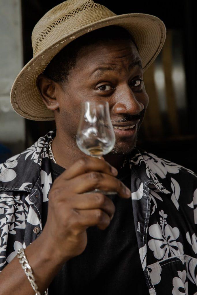 Ian Burrell Rum ambassador #ilesdeguadeloupe