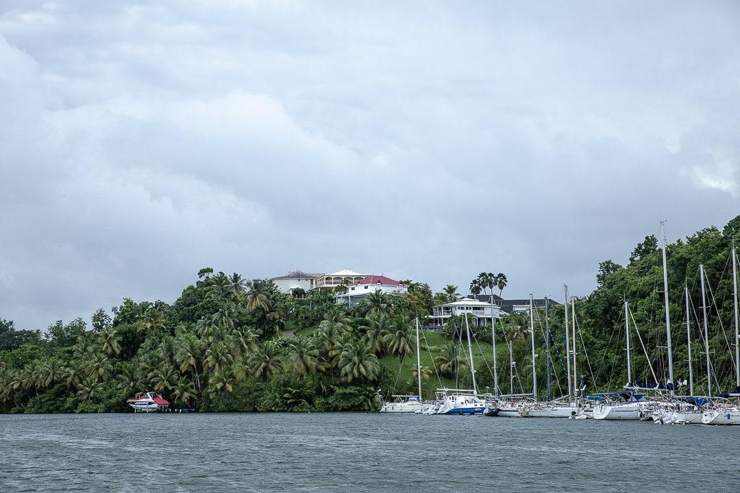 Mouillage dans la marina de Pointe à Pitre en Guadeloupe #ilesdeguadeloupe