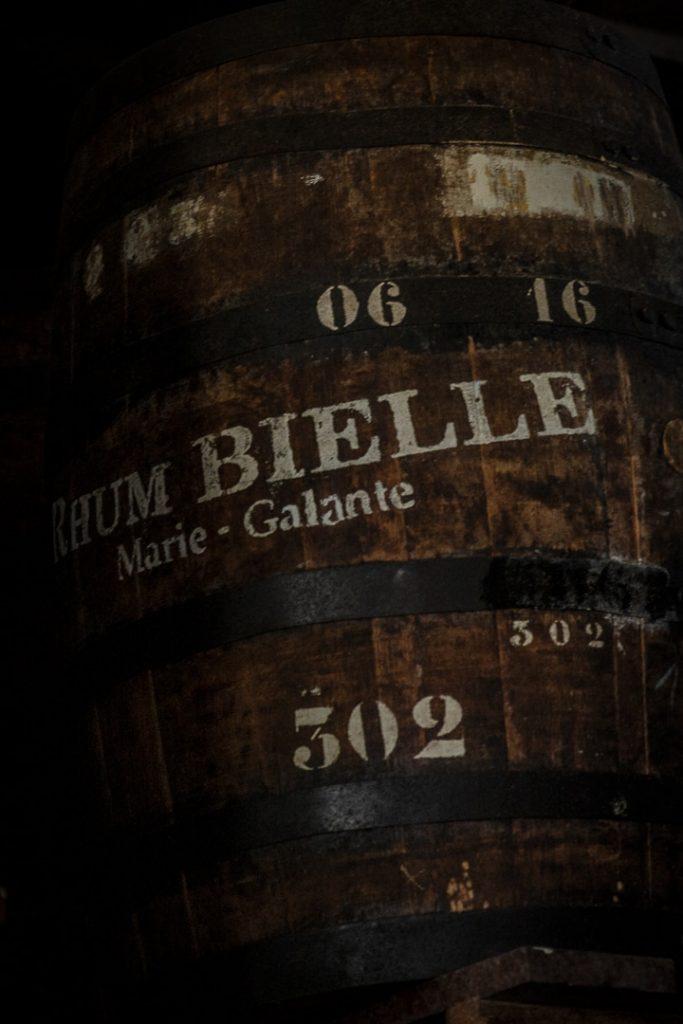 Fût à la distillerie Bielle sur Marie Galante