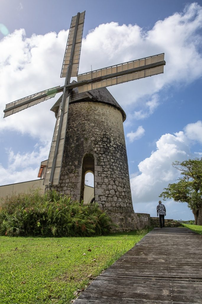 Le moulin de la distillerie Bellevue à Marie Galante #ilesdeguadeloupe