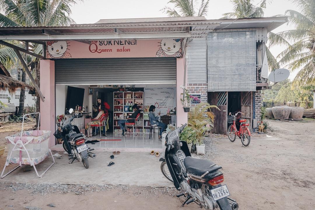 Ma homestay à Banteay Chhmar, juste au-dessus du Queen salon #cambodge