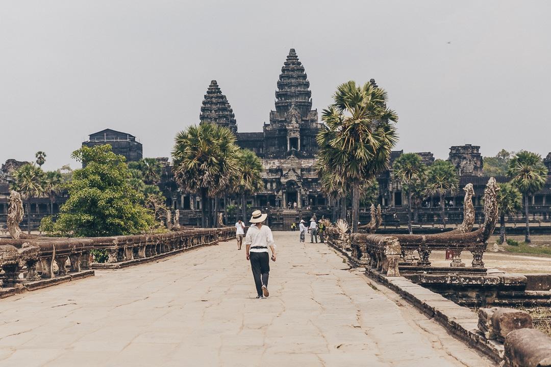 Le sublime Angkor Vat, un incontournable à visiter lors d'un séjour de 3 semaines au Cambodge