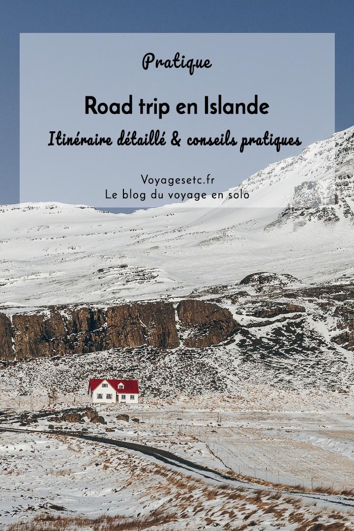 Organiser son road trip en Islande n\'est pas chose simple tant le pays est riche de sa nature. Retrouvez mon itinéraire détaillé et mes conseils pratiques pour dessiner votre voyage en Islande