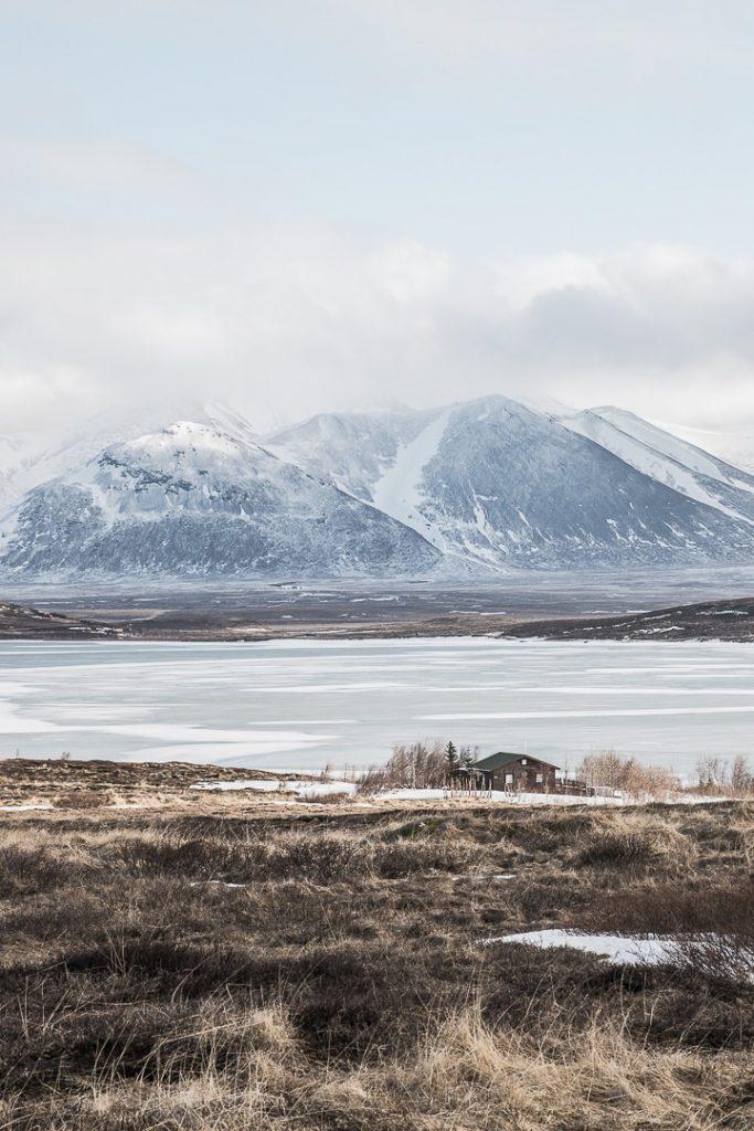 vue sur les fjords sur la péninsule de Vatnsnes #islande