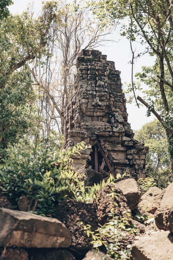 Temple satellite à celui de Banteau Chhmar - Cambodge