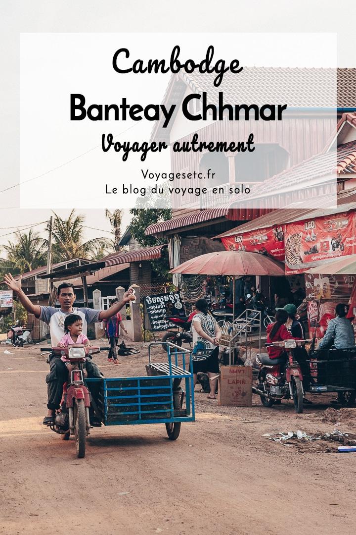 Banteay Chhmar est le village idéal pour voyager autrement au Cambodge. On peut y faire du tourisme solidaire en logeant chez l\'habitant. On y trouve aussi un merveilleux temple de la même époque que celui d\'Angkor. Bien que assez détruit on y trouve de merveilleux bas-reliefs #cambodge #angko