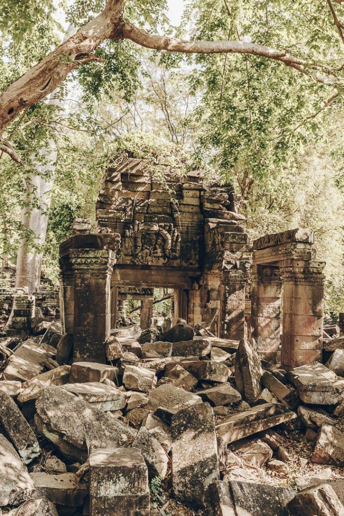 Ruines du temple de Banteay Chhmar - cambodge