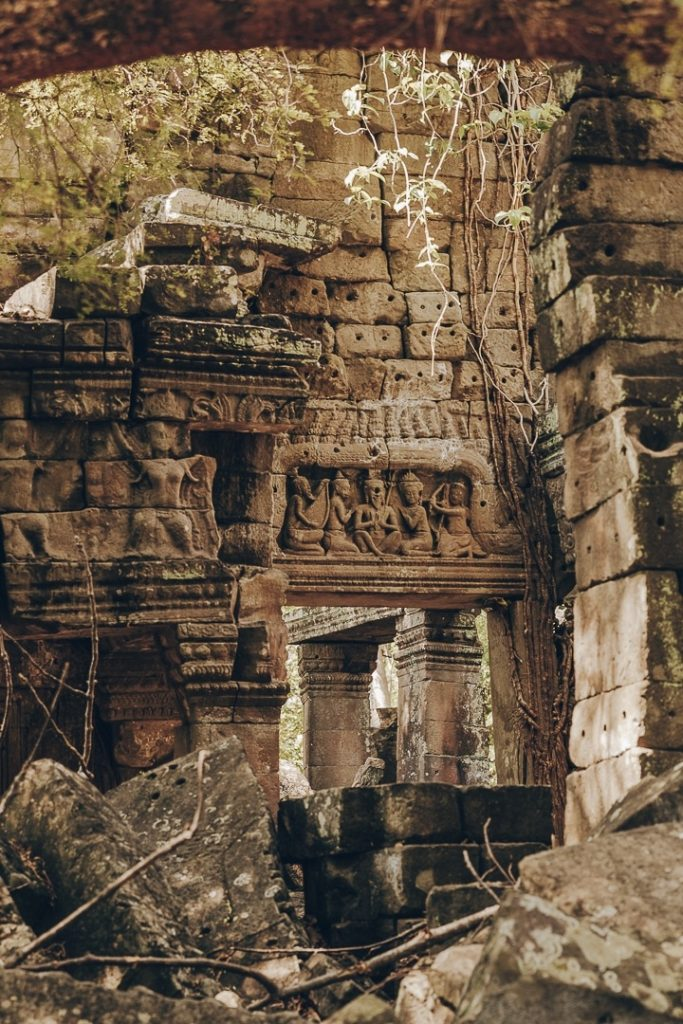 Ruines du temple de Banteay Chhmar au Cambodge
