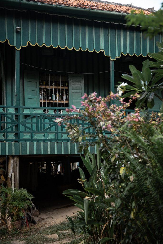 Greenhouse à Kampot, Cambodge
