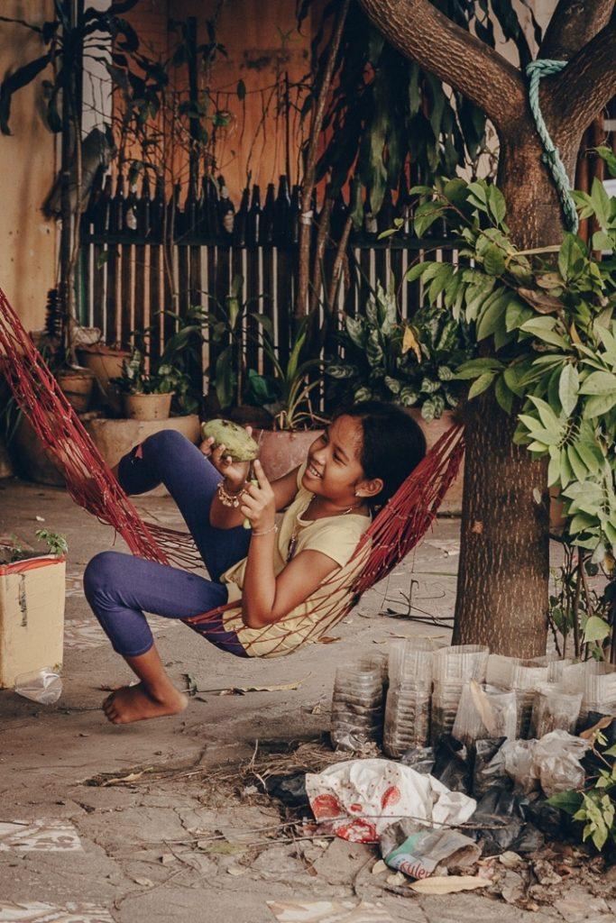 Joie de vivre à Kampot, Cambodge