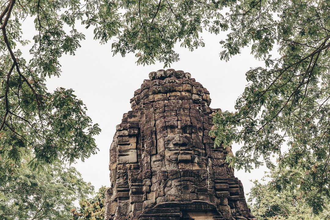 Ta Prohm, temple satellite à celui de Banteay Chhmar - Cambodge