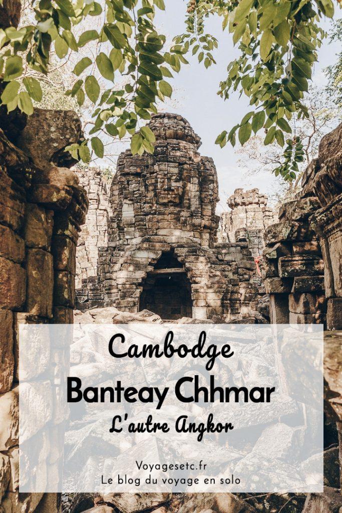 Banteay Chhmar, l'autre Angkor. Dans ce village isolé se trouve l'un des plus beaux ensembles de l'époque angkorienne (après Angkor bien sûr) - A vivre ! #cambodge