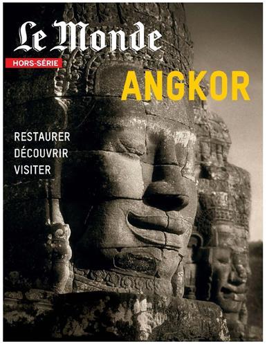 Une du hors-série du Monde dédié à Angkor
