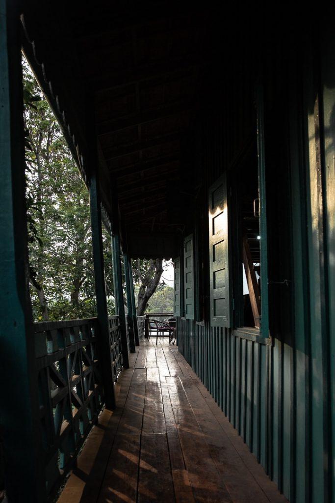 Galerie de la Greenhouse à Kampot au Cambodge