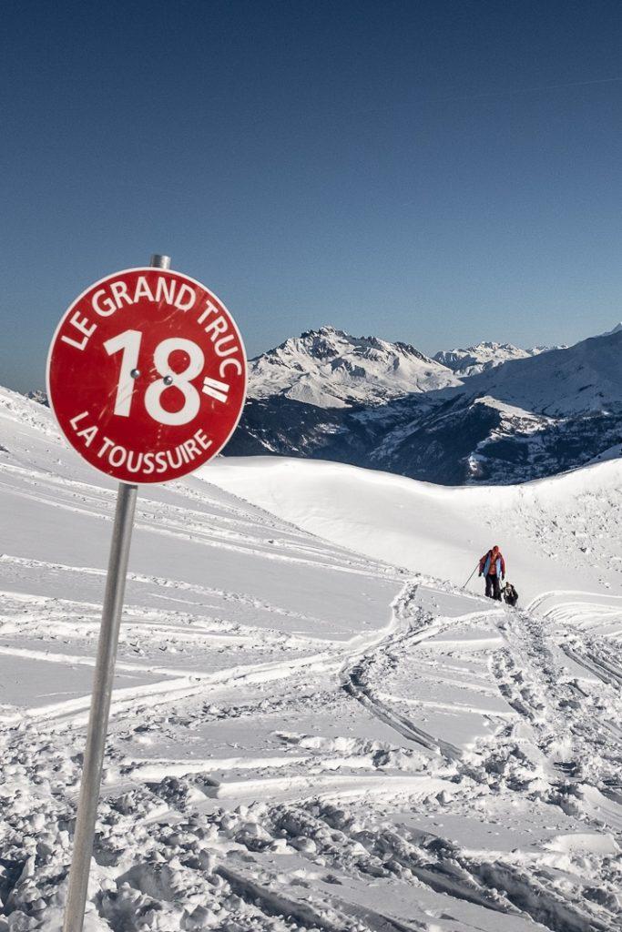 Randonnée raquette jusqu'au Grand Truc - La Toussuire