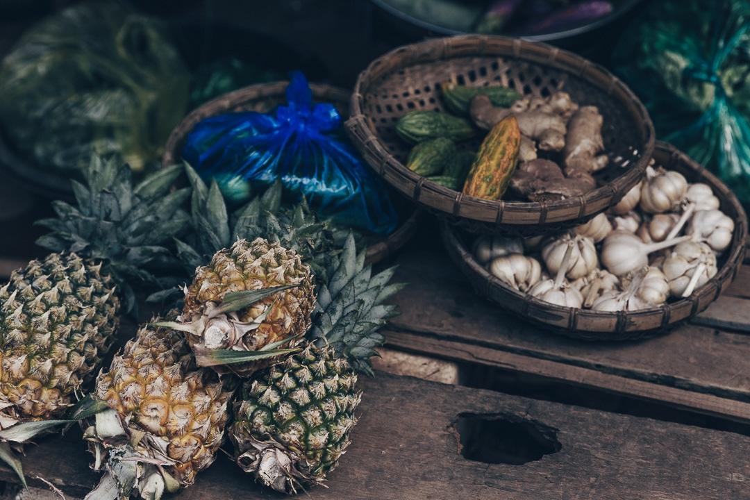 Epicerie du village de pêcheurs à Kampot